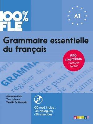 Grammaire Essentielle Du Francais Niv A1 2018 Livre Cd