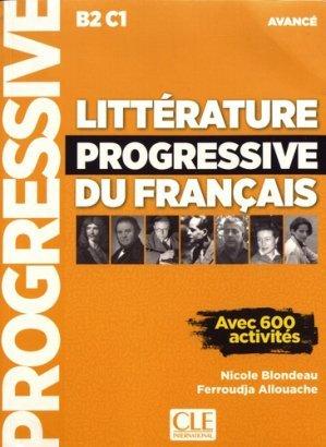 Litterature Progressive Du Francais Avance B2 C1 Avec 600 Activites